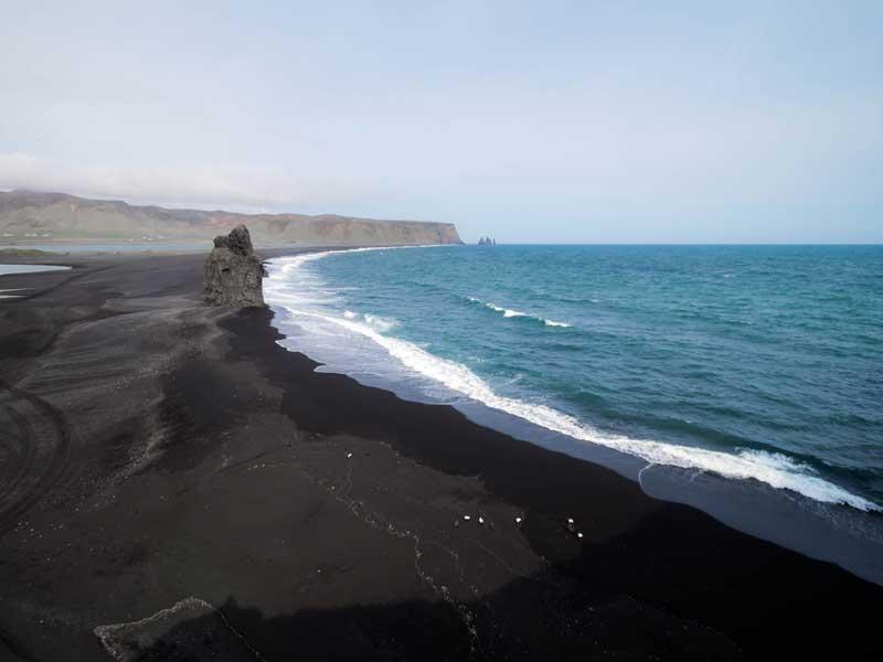 Тенерифе черный песок